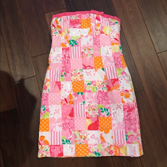 c9d948e43dd7ed Lilly Pulitzer Dresses | Patchwork Dress Size 6 | Poshmark